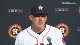 AJ Hinch top 5 quotes on Astros' losing streak