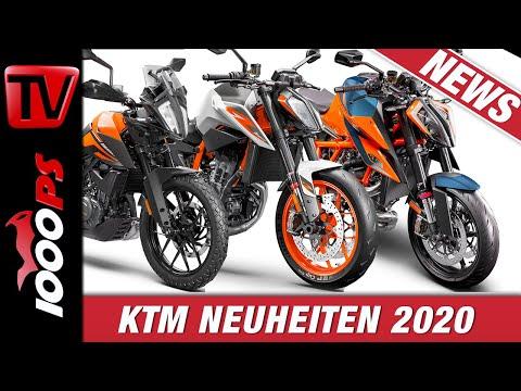 KTM Motorrad Neuheiten 2020 - 390 Adventure, 890 Duke R, 1290 Super Duke R!