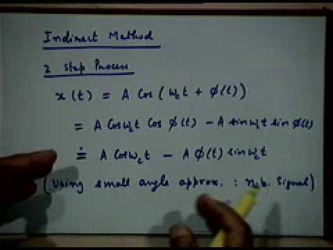Lecture - 17 Generation Of FM Signals