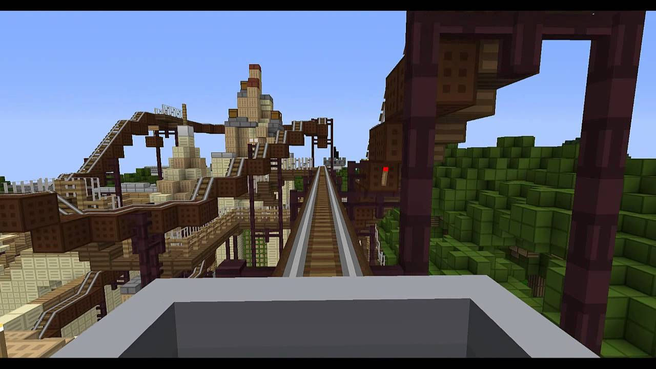 Minecraft Indiana Jones And The Temple Of Peril YouTube