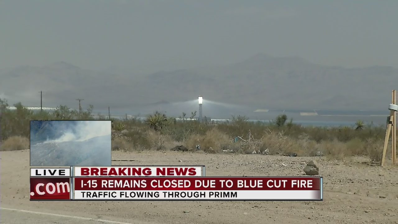 UPDATE: Blue Cut wildfire burns up to 30,000 acres