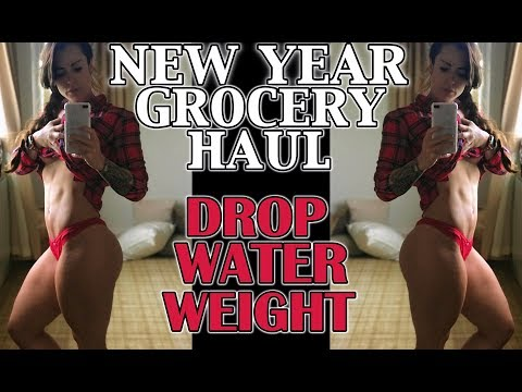 Healthy Grocery Haul For Weight Loss | Dropping Water Weight