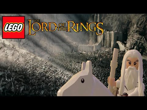 LEGO LOTR: The Two Towers  Lego Version Trailer