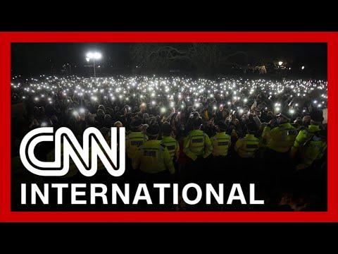 Sarah Everard's vigil aggressively broken up by London police