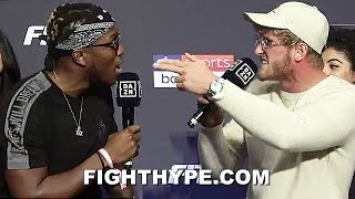 (WOW!) LOGAN PAUL & KSI HEATED ARGUMENT ABOUT BOXING IQ & MATH SKILLS; GO AT IT AT FINAL PRESSER