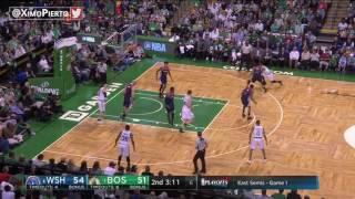Washington Wizards vs Boston Celtics Full Game Highlights Game 1 April 30, 2017 NBA Playoffs