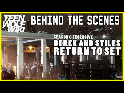 Thumbnail: Teen Wolf Season 6 Tyler Hoechlin and Dylan O'Brien Allegedly on Set