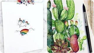 Most Amazing Art videos🌺 Painting tutorial - Simple drawings - Cute Drawings thumbnail