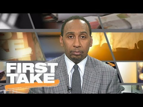 Stephen A. Smith doesn't like Jerry Jones' national anthem policy   First Take   ESPN
