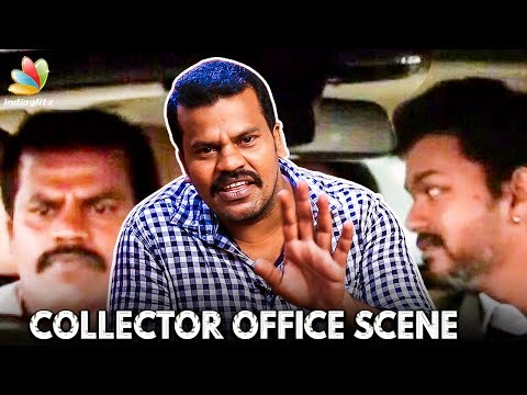 SARKAR Collector Office Scene : Vijay's Driver Live Performance | Aaru Bala Interview thumbnail