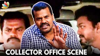 SARKAR Collector Office Scene : Vijay's Driver Live Performance | Aaru Bala Interview