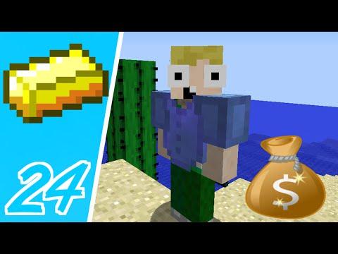 Dansk Minecraft - Pengebyen #24: SÅDAN TJENER MAN PENGE!