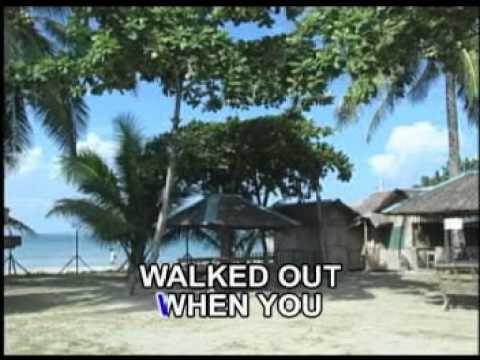 A Tear Fell By Victor Wood (Karaoke)
