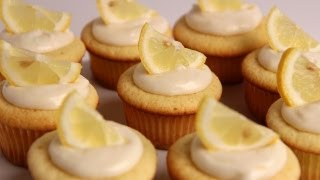 Homemade Lemon Cupcakes Recipe - Laura Vitale - Laura In The Kitchen Episode 368