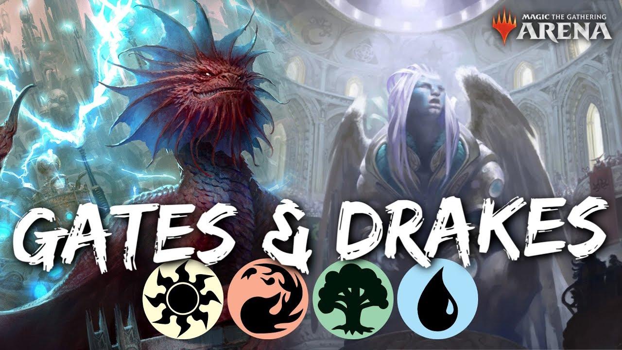 Gates & Drakes [MTG Arena] | 4-Color Drakes Deck in RNA Standard