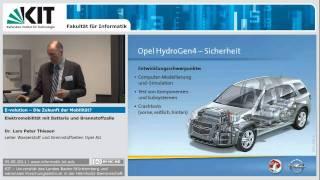 Elektromobilität mit Batterie und Brennstoffzelle