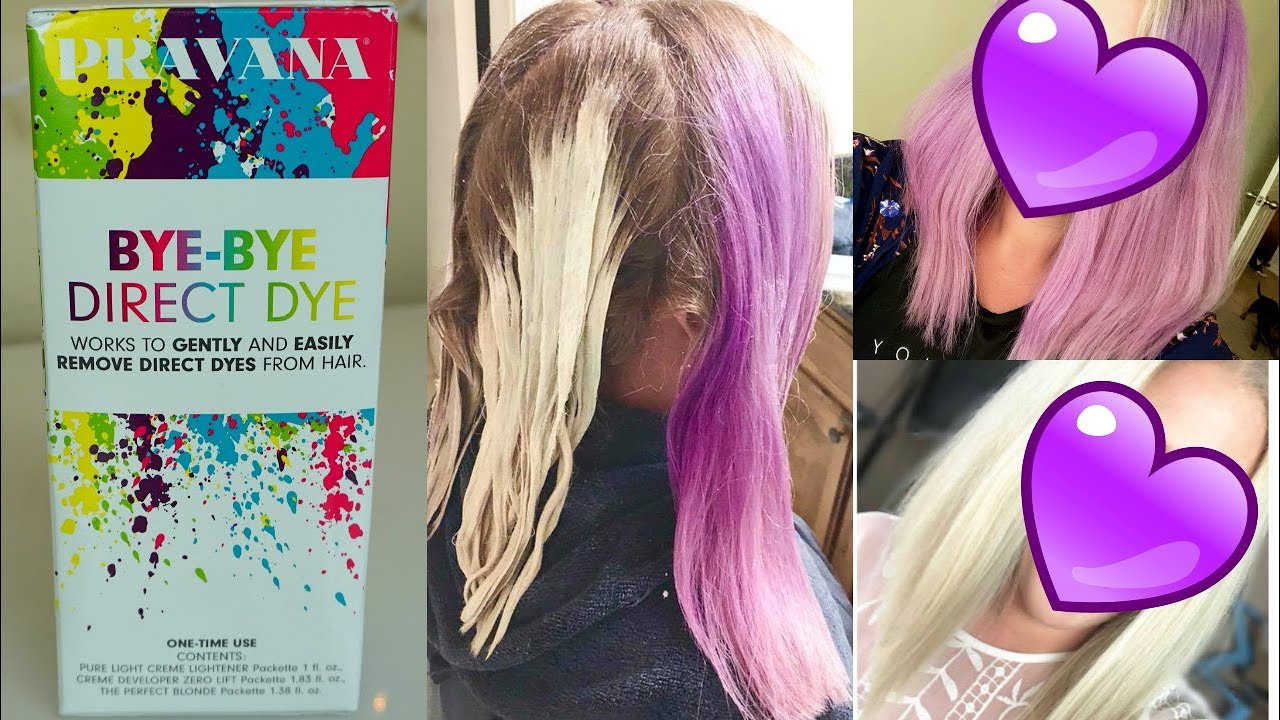 a3c89afbef Pravana Bye Bye Direct Dye Review | How to Remove Color Without Bleach