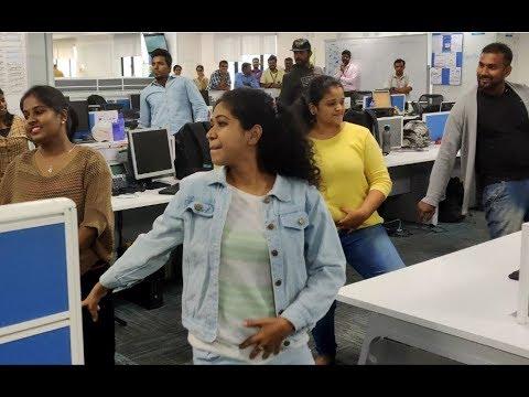 Office Celebration Verithanam Tamil Flash mob