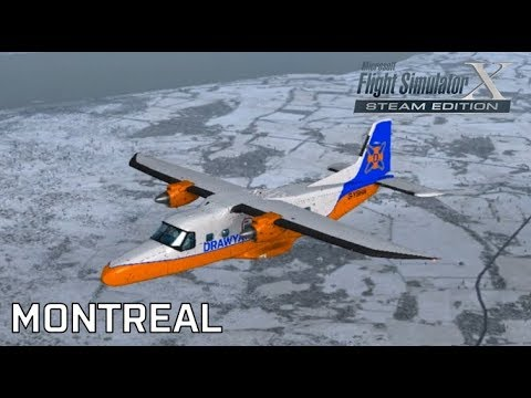 Drawyah plays FSX - Montreal|Episode 70