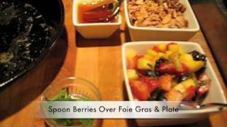 Seared Foie Gras With Almond French Toast And Berry Salsa - Andrew Gutierrez, Las Ramblas