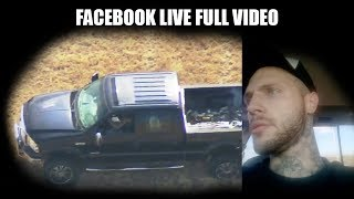 Brenton Hager High Speed Police Chase Full Facebook Live Video