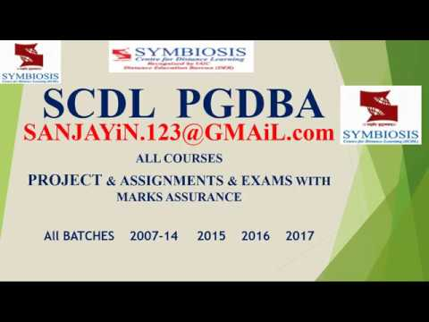 Scdl Mba Diploma In Instructional Design Id Symbiosis Youtube