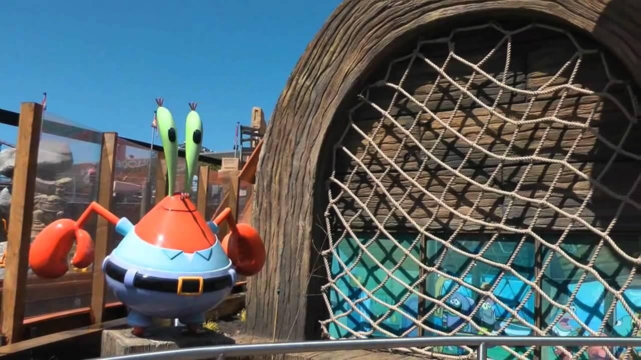 nickelodeon land spongebob