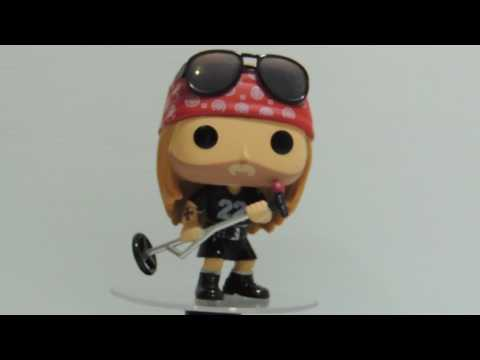 FUNKO POP ROCKS! REVIEW - #50 - AXL ROSE- GUNS AND ROSES