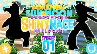 ALOLA! A NEW ADVENTURE! Pokemon Sun and Moon Randomizer Shiny Race Nuzlocke w/ MandJTV! Episode 1