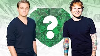 WHO'S RICHER? - Leonardo DiCaprio or Ed Sheeran? - Net Worth Revealed!
