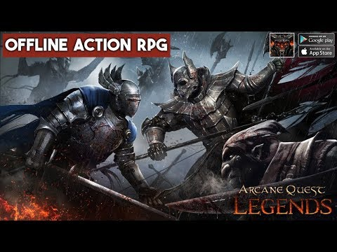 Arcane Quest Legends Gameplay Android / IOS - Offline RPG Mobile