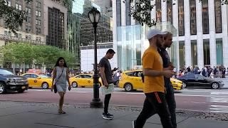 FIFTH AVENUE & 58 STREET 2019 MANHATTAN NEW YORK CITY USA