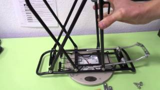 Велобагажник  под дисковый тормоз(Багажник UNI DISC Al, на раму велосипеда, алюминиевый универсальный ..., 2016-04-21T22:16:43.000Z)