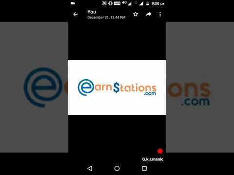 Easy to earn money EARNSTATION.COM / BEST GENUINE ONLINE WORK / PART TIME JOB IN ONLINE TAMIL ?*