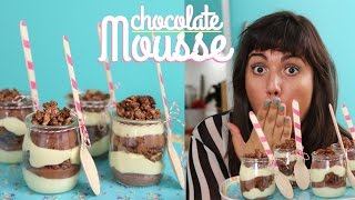 French Chocolate Mousse- Flufflier Than A Cloud