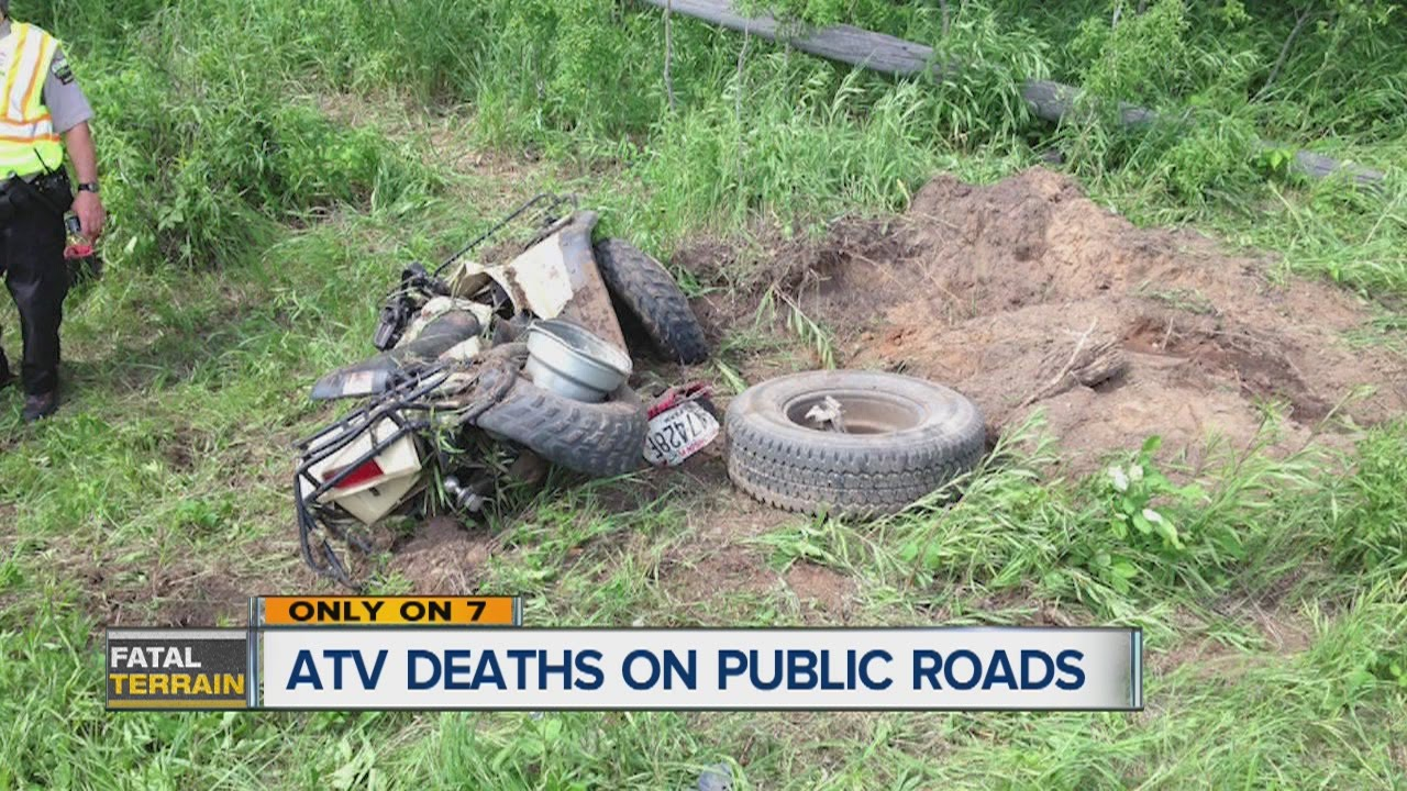 ATV deaths on public roads - YouTube