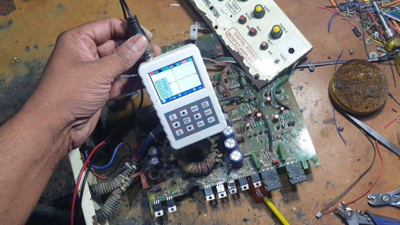 9 August 2020 Big mosfit amplifier Repair Chaha lHollanwali
