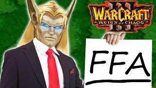 Как тащить в warcraft 3 FFA