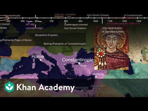 Great Schism or East-West Schism part 1 | World History | Kh