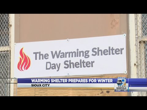 Warming Shelter Prepares For Winter - YouTube
