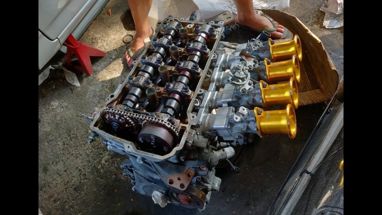 Unboxing 3 parts for 3 cars   VIOS 1NZ ALTIS 2ZZ SATRIA 4G13T