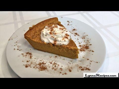 Impossible Pumpkin Pie - Lynn's Recipes