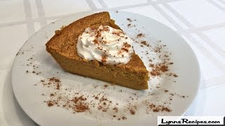 Impossible Pumpkin Pie - Lynn's Recipes
