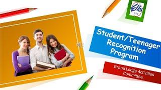 Student Recognition Program