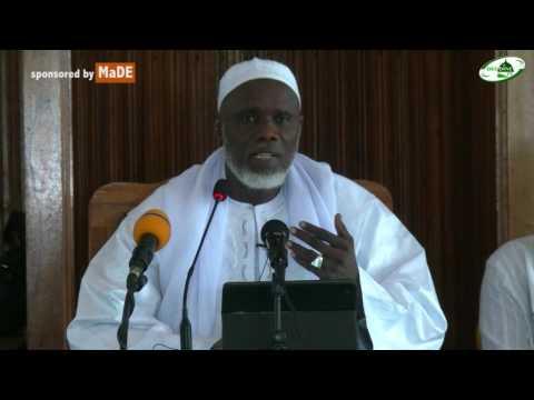RAMADAN 2017 M.A. IBNOU MOUBARAKTHEME : CERTE LA RELIGION ACCEPTÉE D'ALLAH EST L'ISLAM
