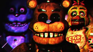 THE FNAF PLUS ANIMATRONICS ARE REVEALED... CREEPY VHS VIDEOS