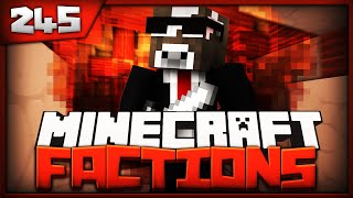 Minecraft FACTION Server Lets Play - SHARPNESS 20 BEEF - Ep. 245 ( Minecraft Factions PvP )