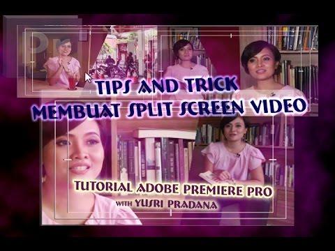 tutorial premiere cara membuat split screen video host televisi youtube. Black Bedroom Furniture Sets. Home Design Ideas