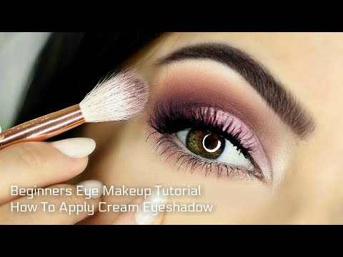 Using a darker shade, contour the crease and brighten the inner corner of your eyes with a highlight. Finish the look with eyeliner and mascara, and you ...