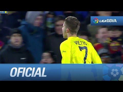Gran gol de Vietto tras error en defensa de Piqué y jugadón de Giovani (1-2) thumbnail